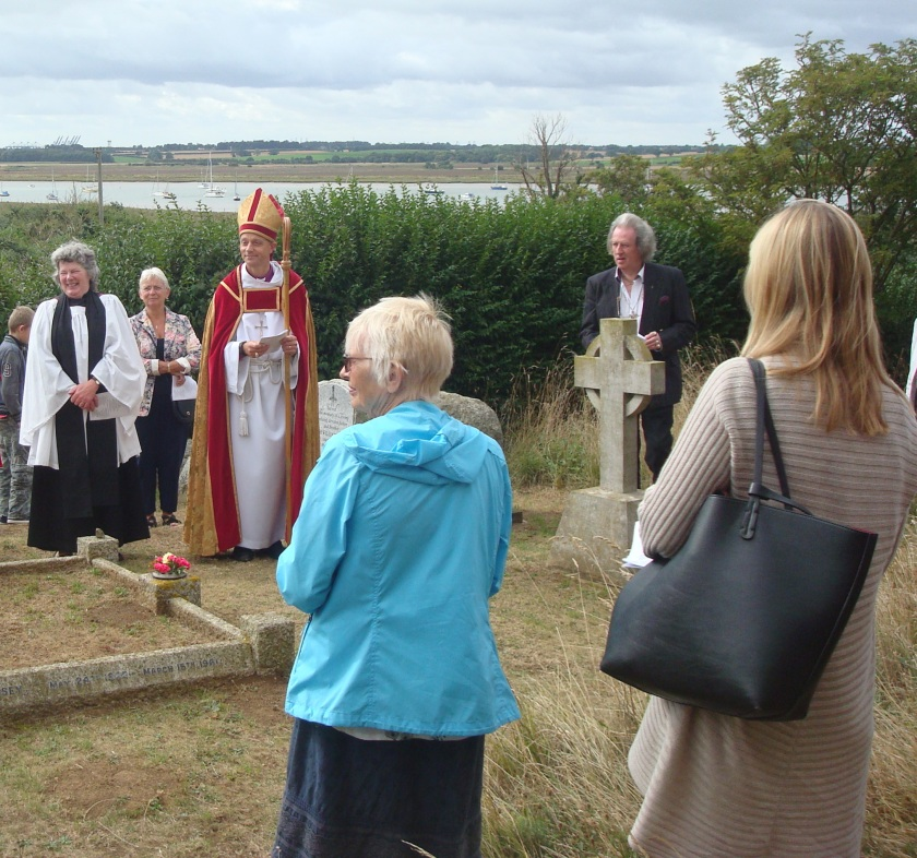 Ramsholt Tower Dedication by the Bishop of Dunwich