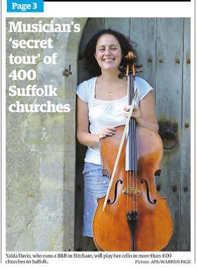 Suffolk Cello ChurchTour